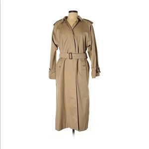 Burberry Vintage Women's Trench Coat Size 10 Long